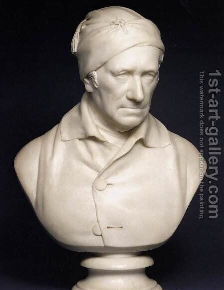 Bust of Revd. John Horne-Tooke by Sir Francis Legatt Chantrey - Reproduction Oil Painting