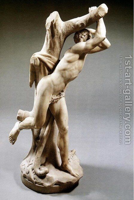 Marsyas by Christophe Veyrier - Reproduction Oil Painting