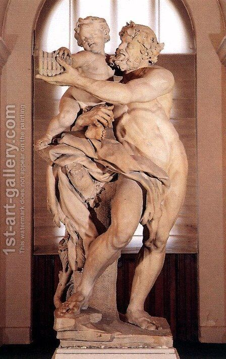 The Faun by Christophe Veyrier - Reproduction Oil Painting