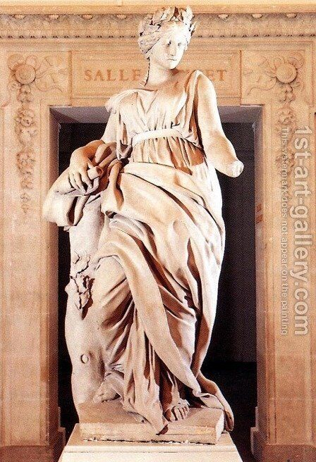 The Muse by Christophe Veyrier - Reproduction Oil Painting