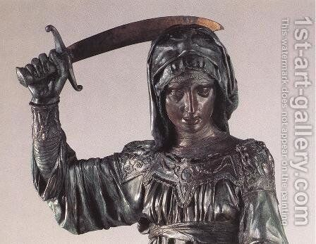Judith and Holofernes - detail by Donatello - Reproduction Oil Painting