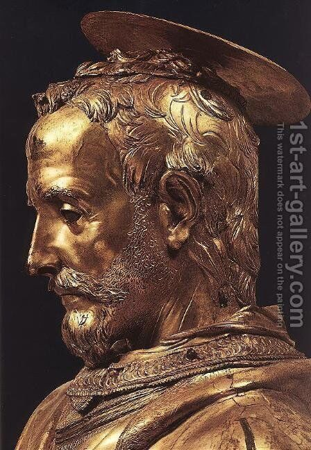 St Rossore - detail by Donatello - Reproduction Oil Painting