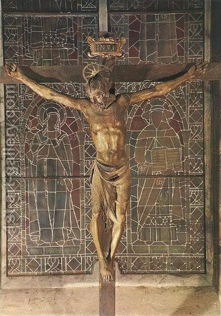 Crucifix by Donatello - Reproduction Oil Painting
