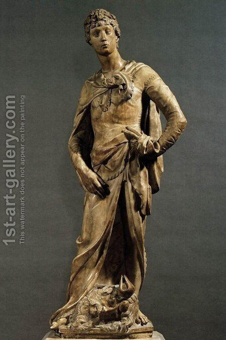 David by Donatello - Reproduction Oil Painting