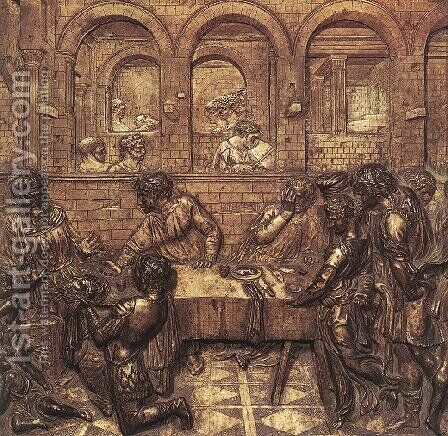 Herod's Banquet by Donatello - Reproduction Oil Painting