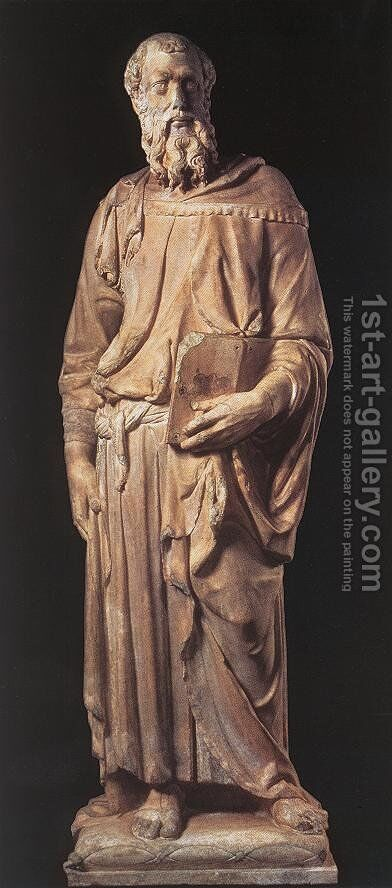 St Mark I by Donatello - Reproduction Oil Painting