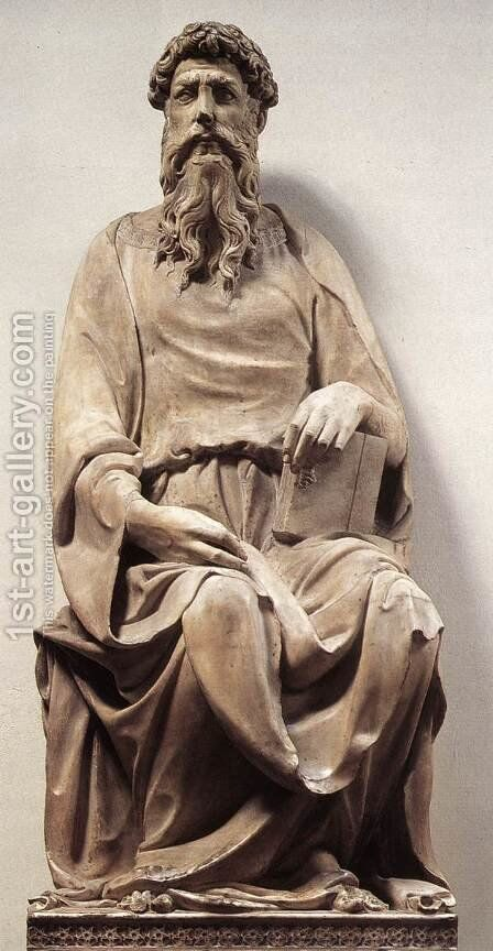 St John the Evangelist by Donatello - Reproduction Oil Painting