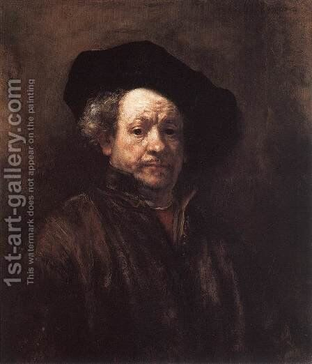 Self-Portrait II by Harmenszoon van Rijn Rembrandt - Reproduction Oil Painting