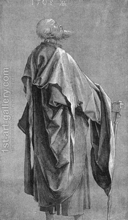 Study Of Drapery I by Albrecht Durer - Reproduction Oil Painting
