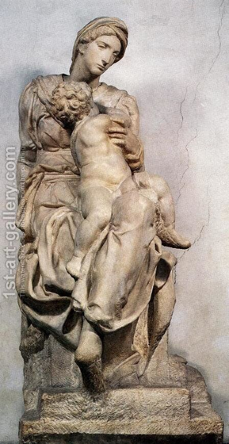Medici Madonna by Michelangelo - Reproduction Oil Painting