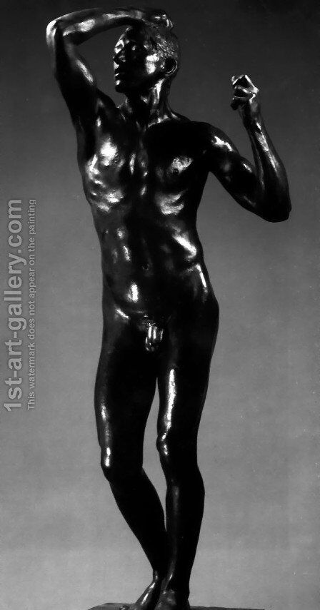 L'Age d'Airain (The Age of Bronze) by Auguste Rodin - Reproduction Oil Painting