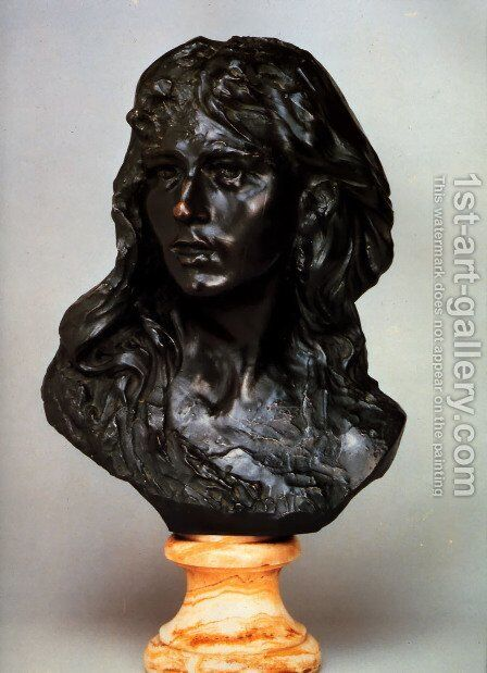 Camille Claudel by Auguste Rodin - Reproduction Oil Painting