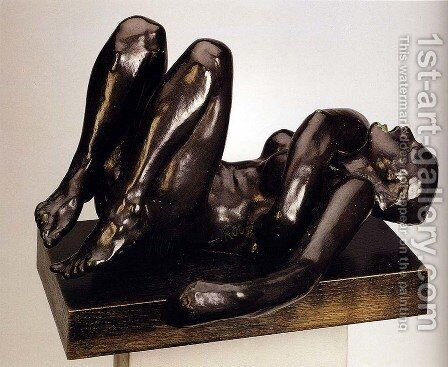 The Sinner by Auguste Rodin - Reproduction Oil Painting