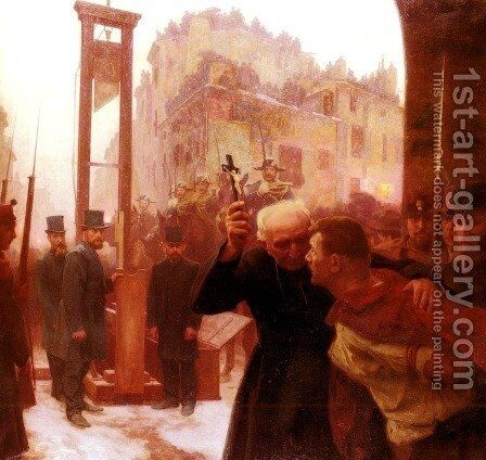 L'Expiation (The Expiation) by Emile Friant - Reproduction Oil Painting