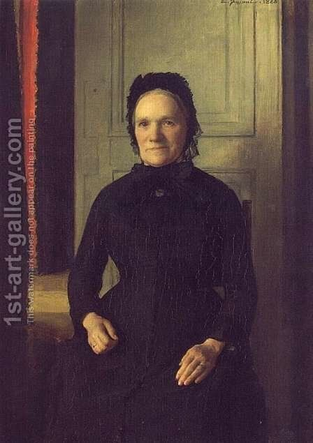 Madame Coquelin Mere by Emile Friant - Reproduction Oil Painting