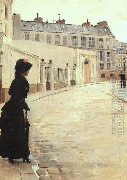 The Wait by Jean-Georges Beraud - Reproduction Oil Painting