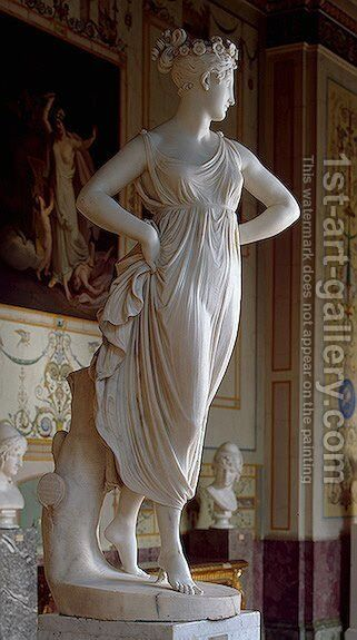 Dancer by Antonio Canova - Reproduction Oil Painting