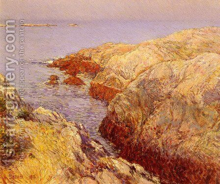 Isles Of Shoals by Childe Hassam - Reproduction Oil Painting
