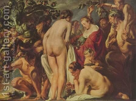 Allegory of Fertility I by Jacob Jordaens - Reproduction Oil Painting