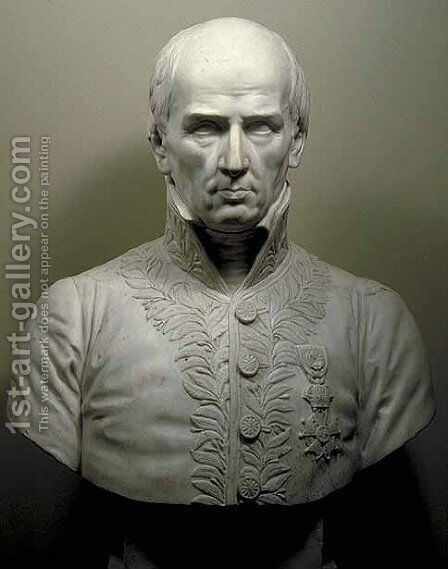 Charles Percier (1764-1838) by James Pradier - Reproduction Oil Painting