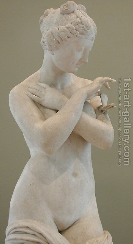Psyche [detail #6] (Psyche) by James Pradier - Reproduction Oil Painting
