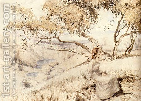 The Song Of The Lark by Arthur Rackham - Reproduction Oil Painting