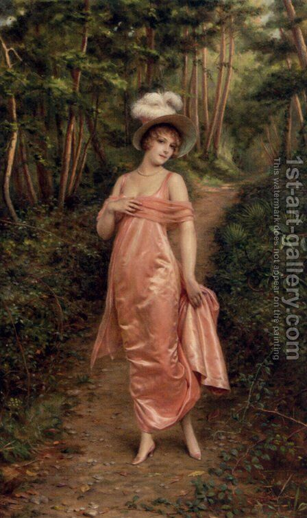 Elegance Of The Epoque by Charles Joseph Frederick Soulacroix - Reproduction Oil Painting