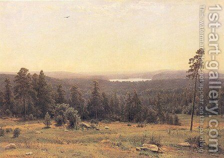 The Forest Horizons I by Ivan Shishkin - Reproduction Oil Painting