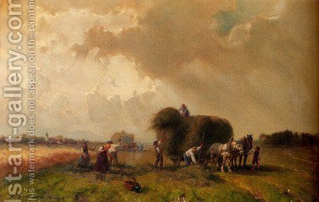 Harvest Time by Desire Thomassin - Reproduction Oil Painting