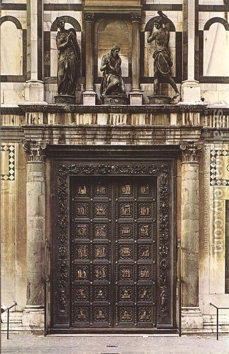 South Doors by Andrea Pisano - Reproduction Oil Painting