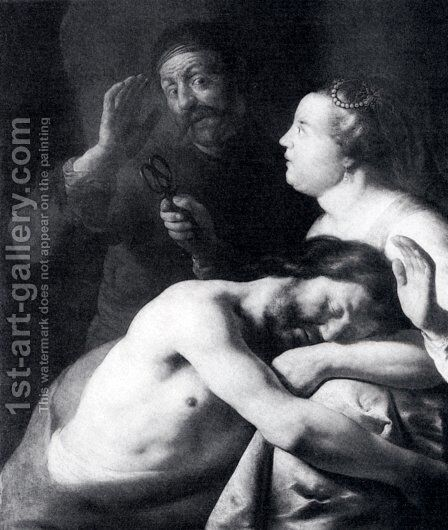 Samson and Delilah II by Jan Lievens - Reproduction Oil Painting