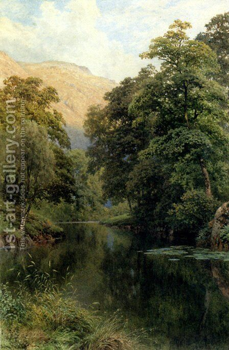 Still Waters by Harry Sutton Palmer - Reproduction Oil Painting