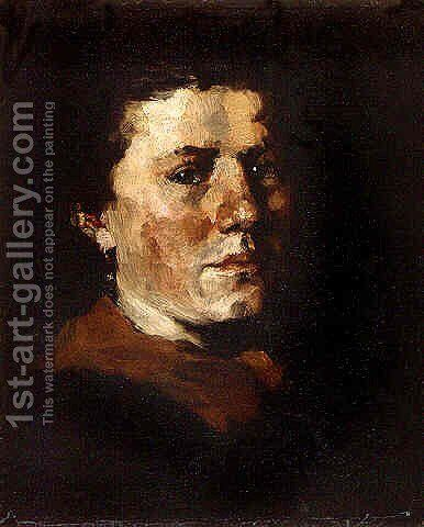 Portrait by J. Frank Currier - Reproduction Oil Painting