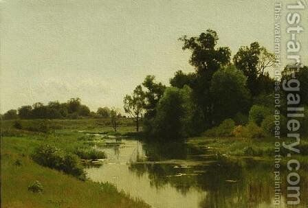 Summer Quiet by Charles Harry Eaton - Reproduction Oil Painting