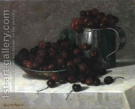 Cherries by Charles Harry Eaton - Reproduction Oil Painting