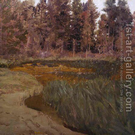 Forest Edge by Ben Foster - Reproduction Oil Painting
