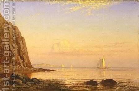 Off Cuttyhunk, Elizabeth Islands, Massachusetts by Charles Henry Gifford - Reproduction Oil Painting
