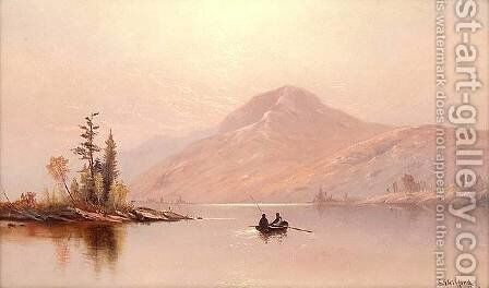 Lake George, 1877 by Charles Henry Gifford - Reproduction Oil Painting
