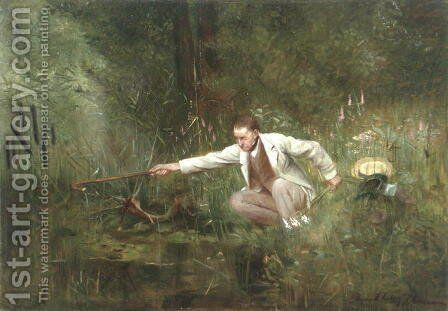 The Botanist by Carl Ziermann - Reproduction Oil Painting