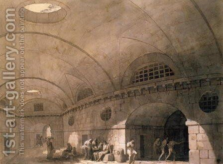 T31459 A Prison Scene, 1794 by Antonio Zucchi - Reproduction Oil Painting