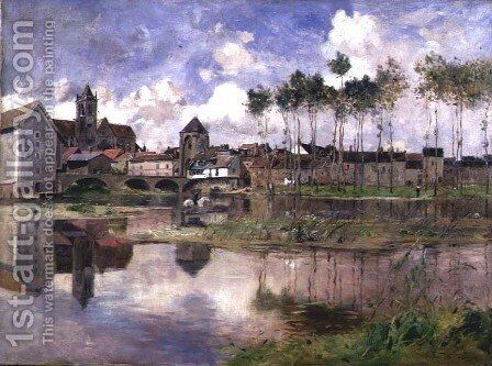 Moret-sur-Loing by Edmond Charles Joseph Yon - Reproduction Oil Painting