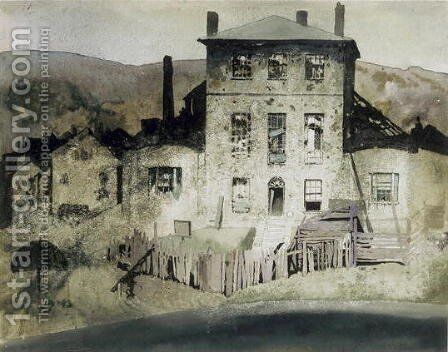 Rat's Castle, Hobart, c.1919 by Blamire Young - Reproduction Oil Painting