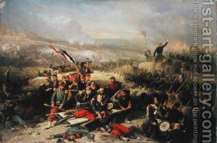 The Taking of Malakoff, 8th September 1855 by Adolphe Yvon - Reproduction Oil Painting