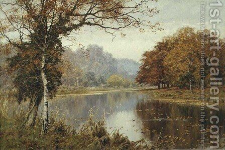 An Autumn day by Edward Wilkins Waite - Reproduction Oil Painting