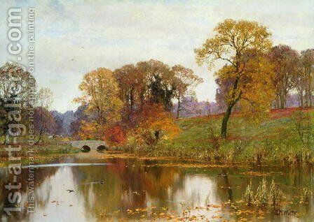 Late Autumn, 1911 by Edward Wilkins Waite - Reproduction Oil Painting