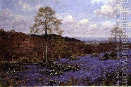 A Copse Clearing in May, 1917 by Edward Wilkins Waite - Reproduction Oil Painting