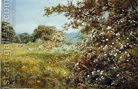A Summer Hedgerow, 1895 by Edward Wilkins Waite - Reproduction Oil Painting
