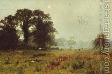 Misty Morning by Edward Wilkins Waite - Reproduction Oil Painting
