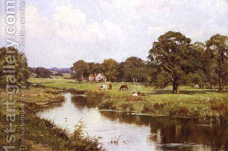 A Quiet September Afternoon, 1920 by Edward Wilkins Waite - Reproduction Oil Painting