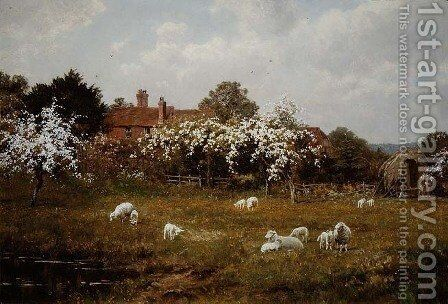Spring at Fittleworth, Sussex by Edward Wilkins Waite - Reproduction Oil Painting